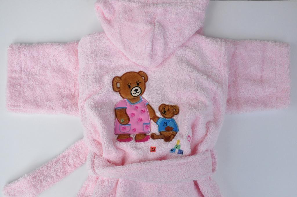 broderie el a linge de toilette b b s et enfants peignoirs peignoir personnalis maman. Black Bedroom Furniture Sets. Home Design Ideas