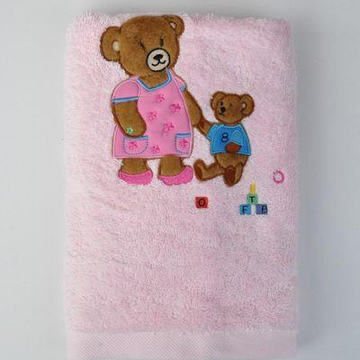 broderie el a linge de toilette b b s et enfants capes de bain cape maman ours pr nom offert. Black Bedroom Furniture Sets. Home Design Ideas